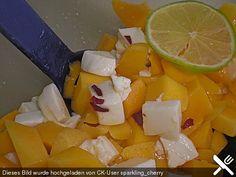 Mango - Mozzarella Salat