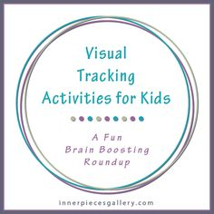 This list of fun free printables for kids to help improve visual tracking skills can go a long way to improve children's ease of reading.