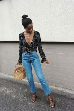 Flawless Summer Outfits Ideas For Slim Women That Looks Cool - Oscilling Spring Summer Fashion, Spring Outfits, Autumn Fashion, Summer Outfit, Spring Style, Summer Chic, Summer Grunge, Summer Fall, Looks Style