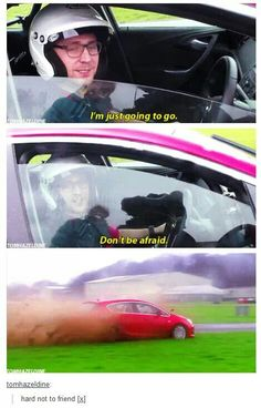 Top Gear with Hiddles. I laughed harderthan i should have.