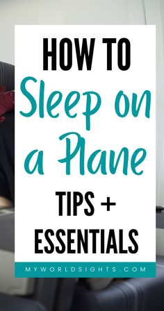 If you have a long flight, you will probably want to sleep! Learn the tricks to sleep on a plane during a long flight, and the carry on essentials you'll need to do so!