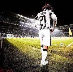 L'arquitecto! Andrea Pirlo for Juventus FC.