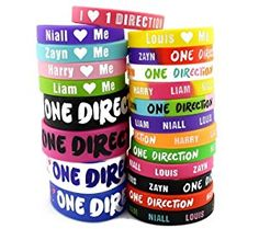21pcs One Direction 1D Bracelet Lot Silicon Wristband w/ Special I Love 1D Gift Box  http://electmejewellery.com/jewelry/bracelets/identification/21pcs-one-direction-1d-bracelet-lot-silicon-wristband-w-special-i-love-1d-gift-box-com/
