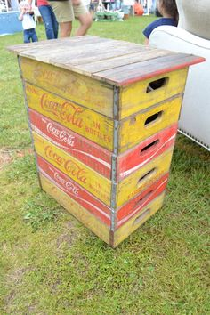 CocaCola Box End Table by Traerloves on Etsy, $275.00