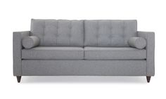 Classic good looks and irresistible comfort as a sofa and a bed make this tufted sleeper your guest room MVP.