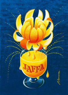 The brand new Erik Bruun Jaffa-poster now available for orders. Size 70 x 100 cm. Vintage French Posters, Vintage Travel Posters, Retro Posters, Poster Ads, Advertising Poster, Poster Prints, Vintage Labels, Vintage Ads, Drawing Projects