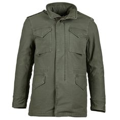 M-65 Defender Field Coat (775 PLN) ❤ liked on Polyvore featuring outerwear, coats, military coat and field coat