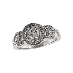 Ladies Diamond Ring LDS DIA RG .45 BR .98 TW | Rings from Enchanted Jewelry | Danielson, CT