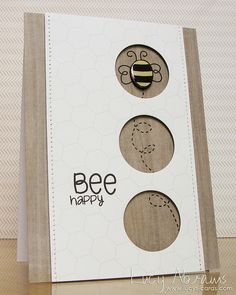 Bee happy by Lucy Abrams, via Flickr