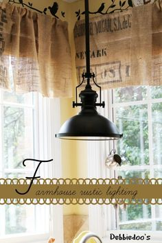 #Farmhouse #rustic light it's all about the little details that make a kitchen the gathering conversation place.