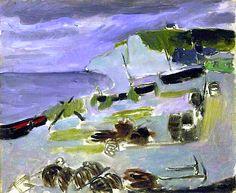 Boats on the Beach, Etrétat by Henri Matisse
