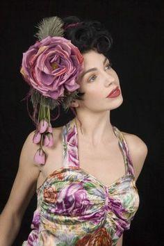 Love My Dress Wedding Blog ~ Bespoke Bridal Vintage Hats, by Pip Hackett...