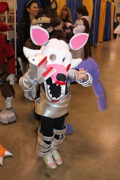 Mangle Costume I made the night before ACBC, last minute addition.