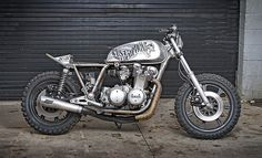 Rust & Redemption Cafe Racer #motorcycles #caferacer #motos   caferacerpasion.com