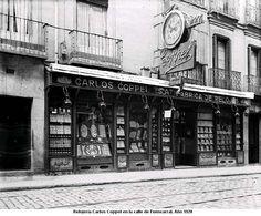 Relojería Carlos Coppel. 1920. Fuencarral, 7. Madrid