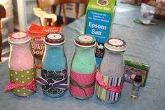 Kathyloves2stamp: Starbucks bottles of bath salts
