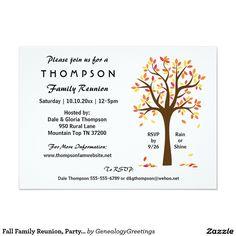 Invitation rencontre familiale