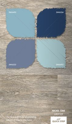 1000 Images About Blue Walls Gray Floors On Pinterest
