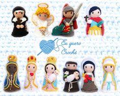 Nossa Senhora das Graças M de crochê | Eu quero! Crochê | Elo7