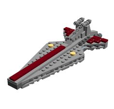 https://flic.kr/p/r4uNhH | Star Wars Mini Spacebattle: Venator Class Destroyer (LDD Building Instructions)  by  Cap. Ammogeddon | This LEGO Minikit is Part of my Star Wars Mini Spacebattle-series, which I made so you can have a few Spaceships in accurate scale to each other. This one is the Republic Venator class Destroyer. (e.g. Star Wars Episode III) \r\n\r\nIt is about 13 ...   Download from: www.repubrick.com/index.php?option=com_virtuemart&vie...