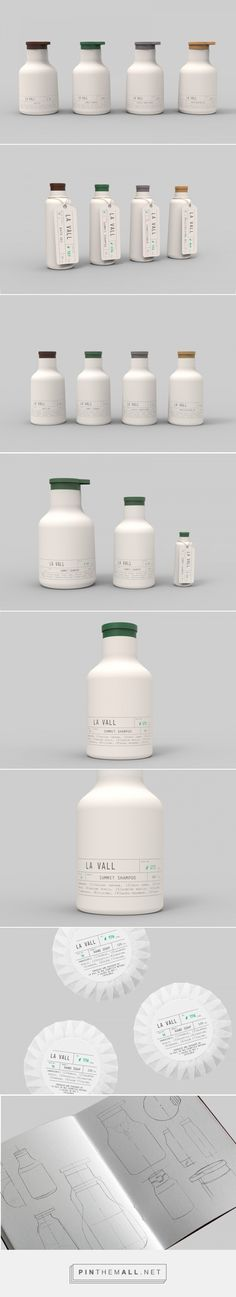 La Vall packaging design by Pablo Berges Alonso, Endika Gómez de Balugera & Sofía Cuba at the 7 hours workshop by Lavernia & Cienfuegos - http://www.packagingoftheworld.com/2017/09/la-vall-7h-progress-lavernia-workshop.html