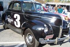 Junior Johnson's 1940 Ford Bootlegging Car by southernculturesociety, via Flickr