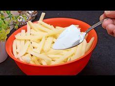 Το μυστικό των τραγανών και ξηρών πατατών‼ ️👌 / Συνταγή Perfect Fries - Κάντε πατάτες σαν mcdonald's - YouTube Potato Pasta, Potato Dishes, Veggie Dishes, Potato Recipes, Vegetable Recipes, Dried Potatoes, Roasted Potatoes, Easy Cooking, Cooking Recipes