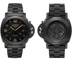 #TimelessSensation ... Panerai PAM 438 Tuttonero ... All Black Ceramic ...#Timepieces #Watches