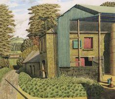 Simon Palmer About Exhibition House Landscape, Landscape Art, Landscape Paintings, Landscape Drawings, Cool Landscapes, Paintings I Love, Modern Landscaping, Contemporary Artists, New Art