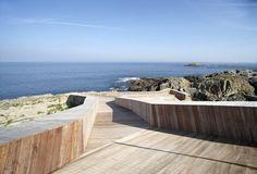 Marcos Morilla, JOVINO MARTINEZ SIERRA ARQUITECTOS · Conversion of an old Shellfish Farm Into a Swimming Pool. Tapia de Casariego (Asturias), Spain · Divisare