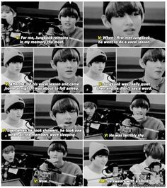 Jungkook swears with a smile