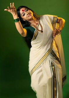 The beauty of hindu clothes, Kerala style