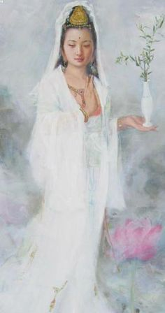 Bless Kuan Yin today - 19/3/14 Her Birthday. May all Beings be Well & Happy & Free from fear...