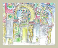 Aux couleurs de l artiste peintre mauricien vaco baissac for Mural fish in tamil