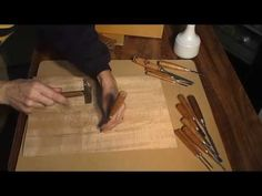 SUSANA CIRILLE - Marquetry technique - Marqueteria Técnica - YouTube
