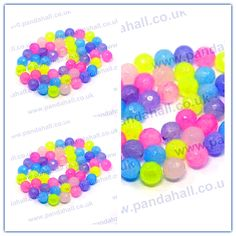 Natural Jade Bead Strands, Dyed, Faceted, Round, Mixed Color  Size: about 8mm in diameter, hole: 1mm(G-R166-8mm-M1)