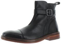 Ben Sherman Jordan Men's Leather Buckle Dress Boots