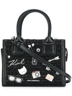 aa64c5dd0f42 Karl Lagerfeld Klassik Pins Tote - Farfetch. Bolsa ToteTote PurseTote  HandbagsTote BagsKarl ...