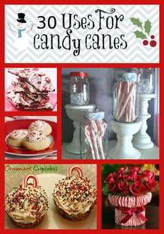 30 Uses For Candy Canes – Food, Crafts, Decor