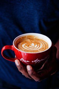 Coffee Culture: Le Creuset Bon Appetit Giant Cappuccino Mug Le Creuset, French Coffee, Cappuccino Mugs, Coffee Culture, Bon Appetit, Stoneware, Latte, Food Photography, Beautiful Pictures