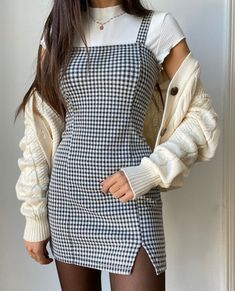 1 – Casual Dresses For Work – Casual dresses Classy Outfits For Teens, Cute Casual Outfits, Teen Fashion Outfits, Girl Outfits, Cute Vintage Outfits, Cute Fashion, Outfits Plus Size, Jugend Mode Outfits, Casual Dresses For Teens