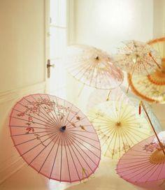 sheer umbrellas