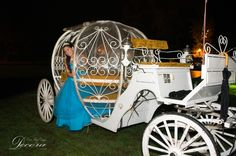 Sweet 16 Novelty Entertainment: Cinderella Carriage by MME Event Design & Productions. mmeentertainment.com. Plan your Sweet 16 with us now: 877.885.0705 | 212.971.5353