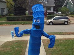 Make a Wacky Waving Inflatable Arm-Flailing Tube Man Costume for Halloween