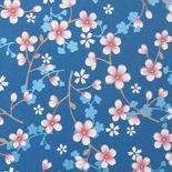PiP II Behang Eijffinger Cherry Blossom Donkerblauw 313025