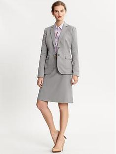 This is a great, lightweight suit option with rounded lapels ...