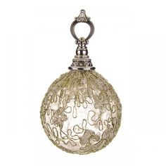 Lace Hanging Ball 8 cm