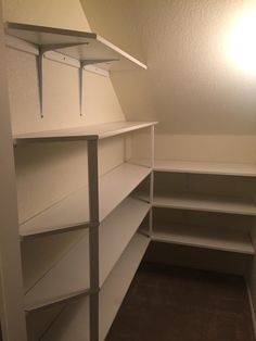 Under stair pantry!!                                                                                                                                                                                 More