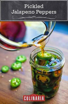 Pickled Pepper Recipe, Pickled Jalapeno Peppers, Pickling Jalapenos, Stuffed Jalapeno Peppers, Fajita Marinade, Spicy Pickles, Fermented Cabbage, Canning Vegetables, Tacos
