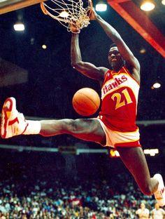 College Basketball, Basketball Players, Best Nba Players, Dominique Wilkins, John Wall, Atlanta Hawks, Larry Bird, Wnba, Michael Jordan